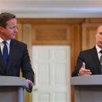 Blood on your hands: Vladimir Putin's attack on Prime Minister David Cameron ahead of G8 talks on Syria