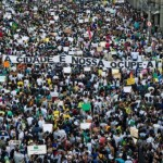 One million march across Brazil in biggest protests yet