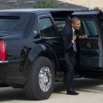 Obama's limo: Heavy armor, blood bank, night vision