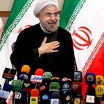 Iran's President Hassan Rouhani. Click to enlarge
