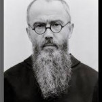 Maximillian Kolbe 1894-1941, a Polish Franciscan Friar murderd at Auschwitz and later canonised by Pope John Paul II