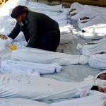 Opposition says as many as 1,300 killed in gas attack near Damascus