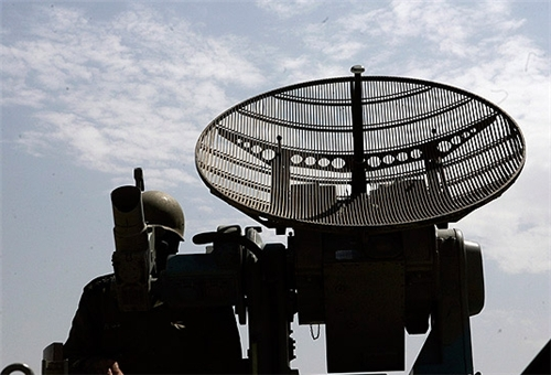 One of Iran's locally developed passive radars. Click to enlarge