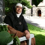 Mother Agnes Mariam el-Salib. Click to enlarge