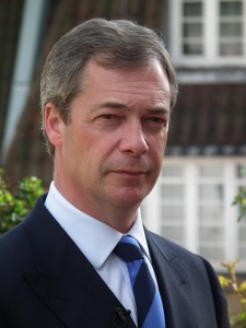 "Former UK Independence Party leader Nigel Farage. Click to enlarge ""We must shut the gates to mass migration."""
