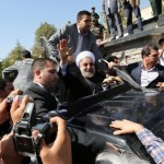 Iranians cheer, protest over Rouhani's historic phone call with Obama