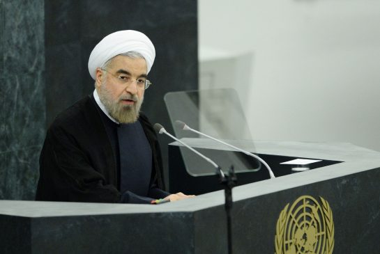 Rouhani's calm considered address at the UN was in distinct contrast to his predecessor. Click to enlarge