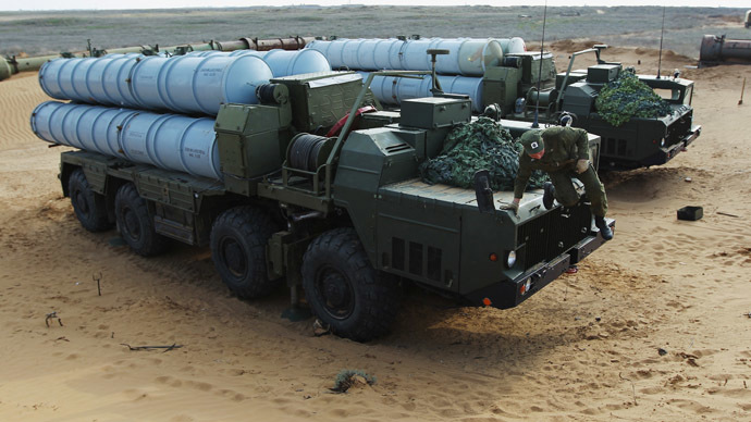 S-300 air defense systems. Click to enlarge