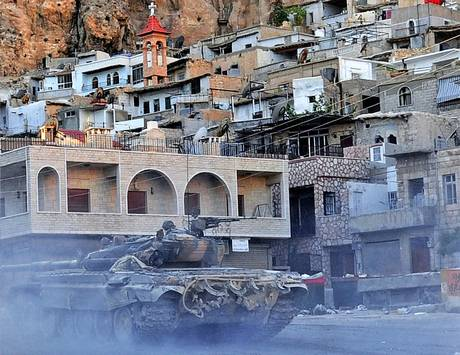 Syria crisis: In sacred Maaloula, where they speak the language of ...