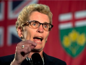 Kathleen Wynne. Click to enlarge