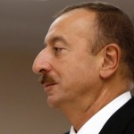 Azerbaijan election 'winner', President Ilham Aliyev. Click to enlarge