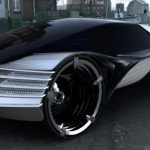 Cadillac thorium fuel concept vehicle. Click to enlarge