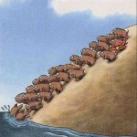 Halloween or living among the lemmings