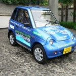 Genepax, a Japanese car that can drive for 50 kilometres in an hour on a litre of water