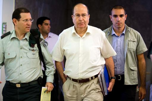 Moshe Yaalon, chief of military intelligence (1992-1998), IDF Chief of Staff (2002-05), Likud (2009-13), Defense Minister of the Netanyahu cabinet  2013 to 2016. Click to enlarge