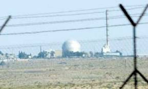 Israeli nuclear weapons facility at Dimona