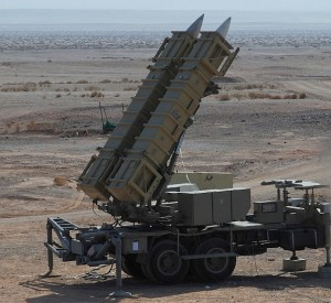 Prototype Sayyad 3 Launcher during tests in 2011. Click to enlarge