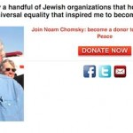 Mazel Tov to Chomsky and Jews Voice for Peace