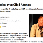 Egalite et Reconciliation: An Interview with Gilad Atzmon by Alimuddin Usmani