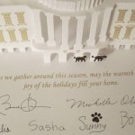 Obama Family Christmas Card: No Mention of Christ or Christmas