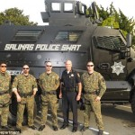 California police department gets $650,000 37,000lb armored military truck