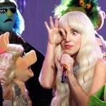 "For some reason, someone thought that a TV show called ""Lady Gaga & The Muppets Holiday Spectacular"" would be a great idea. Unsurprisingly, it featured Lady Gaga doing the one eye sign around a bunch of puppets. 3.6 million viewers (including a whole bunch of children) watched this on Thanksgiving. They're pushing it."