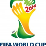 "2014 world Cup logo. Coincidentally, ZZ from Poland writes: ""Very dark foreboding in the graphics, namely the presumed ball in actuality IS a human head, covered with a hand. Note the probable eyeline under the hand, it is directed downwards, to the ground, as in a deep despair. This logo speaks sorrow words."" Click to enlarge"