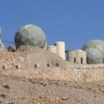 Built inside a mountain, top secret IDF listening post at Mount Hermon. Click to enlarge