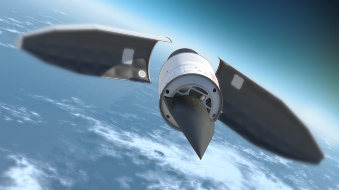 Artists conception of Artists impression of Chinese hypersonic vehicle. Click to enlarge