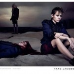 In Marc Jacob's Spring 2014 campaign, Miley Cyrus is sitting there, being stylish next to … a dead girl. So fashion forward. Click to enlarge