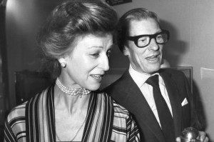 Saviles connections: Sir Angus Ogilvy and Princess Alexandra. Click to enlarge