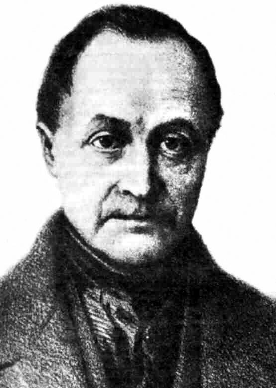 Auguste Comte 1798-1857. Click to enlarge