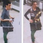 A 'composite' image shows what is alleged to be the two Iranian passengers who used stolen passports to board a Malaysia Airlines flight that subsequently went missing. Click to enlarge