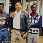 """Barack Obama with his brothers Samson and Ben in 1987 in Nairobi. I have a perfect memory and I state that I saw the man in the center of this picture in Moscow in 1987, where I've been trained at KGB Intelligence Institute."""
