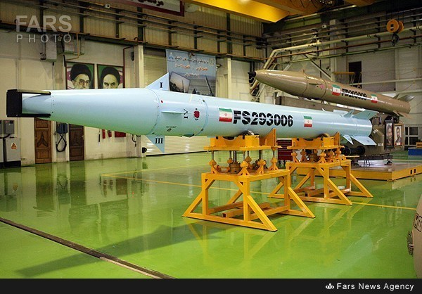 Iran new MIRV warhead missiles. Click to enlarge