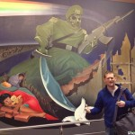 """It has all been depicted, in satanic detail, including the nuke color coding, as seen in the Denver Airport murals. Click to enlarge"