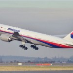 Malaysian Airlines Boeing 777 also disappeared from radar. Click to enlarge