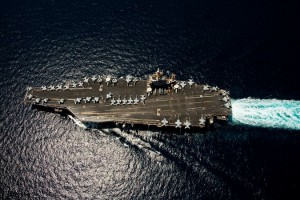 A Nimitz class carrier USS Abraham Lincoln in 2012. Click to enlarge