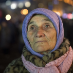 This supporter of the Ukraine joining the EU has received her reward: a 50per cent cut in her pension. Click to enlarge