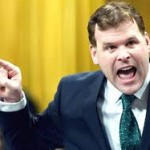 Canada's homosexual Minister of Foreign Affairs, the porcine John Baird.