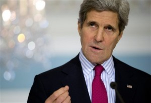 Skull & Bones' John Kerry, the ghoulish face of modern Satanism. Click to enlarge