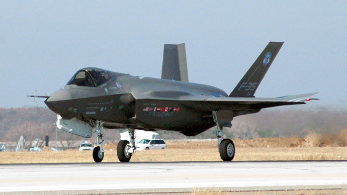F-35 Joint Strike Fighter: part of the price for Israel quietly acceptning the deal? Click to enlarge