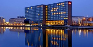 The Marriot Hotel, Copenhagen: venue for the upcoming 2014 Bilderberg meeting. Click to enlarge