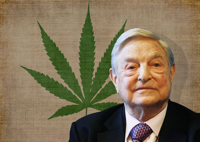 Soros has sponsored a campaign to change marijuana legalization since 1994. Click to enlarge