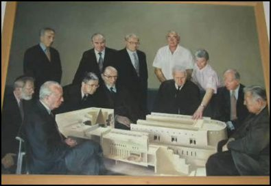 Rothschilds and Israeli leaders study model of Rothschild sponsored Israeli Supreme Court, destined to be World Court.