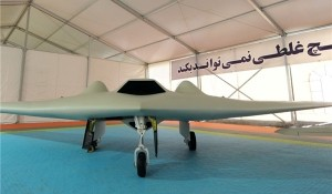Iranian version of the U.S. RQ-170 drone, which Iran seized in December 2011. Click to enlarge