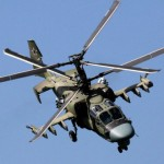 A Ka-52 Alligator attack helicopter, part of Russia's resurgent defence capability. Click to enlarge