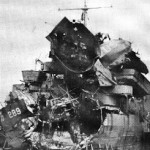 LST 289 one of three tank landing ships hit. Two others sunk with a loss of about 1000 Americans at Lyme Bay near Slapton Sands.