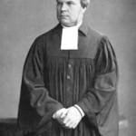 """Left, Adolf Stoecker (1835 -1909) was the court chaplain to Kaiser Wilhelm II, a politician,and a German Lutheran theologian who founded the Christian Social Party and attempted toroll back Jewish control. He helped organize the 1882 """"Anti Jewish Conference."""")"""