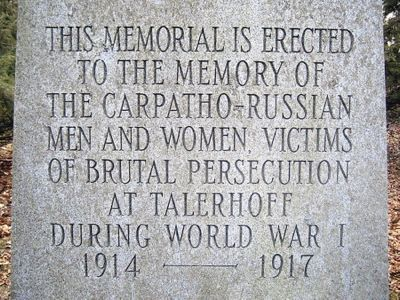 At least a thousand prisoners died during their confinement at Telerhoff.